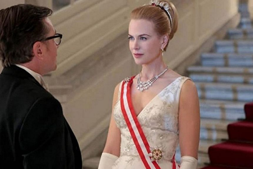 Cinema still: Grace Of Monaco starring Nicole Kidman (right). -- FILE PHOTO: THE CELEB SOCIAL