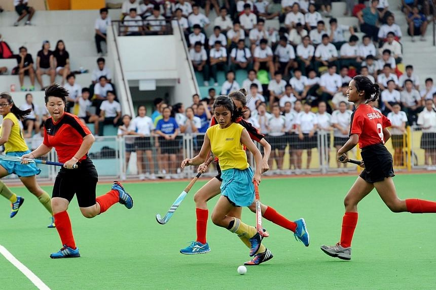 Crescent Girls' School play Sengkang Secondary School, whilst Victoria School goes up against Raffles Institution in the National Schools Girls and Boys B Division Finals respectively.Crescent Girls School (CGS) beat Seng Kang Secondary School