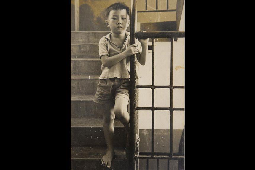 Benny Se Teo as a young boy. -- PHOTO: COURTESY OF BENNY SE TEO