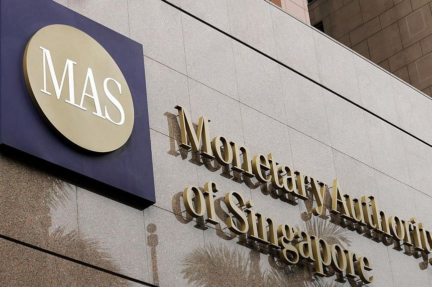 The Monetary Authority of Singapore. -- ST FILE PHOTO: RICHARD CHNG