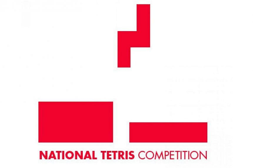 The National Gallery Singapore logo has spun off parodies such as this, likening the two blocks to a Tetris game. -- FILE PHOTO:FACEBOOK