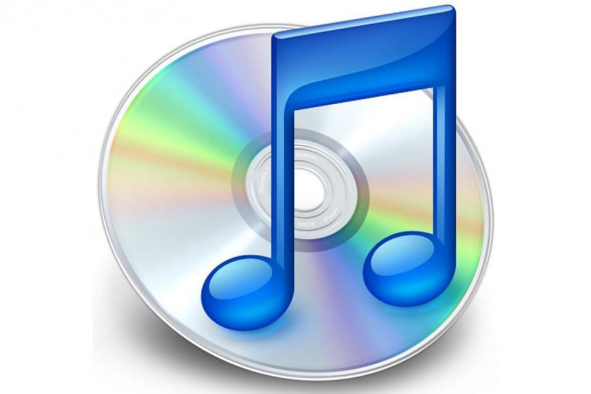 The original iTunes logo of a CD and a blue music note, which was first introduced in 2001, was replaced in 2010. -- FILE PHOTO:SCREENGRAB FROM TECHNORATI