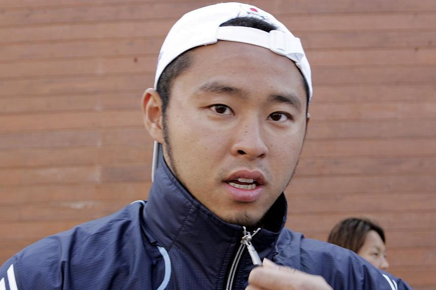 Former Olympic champion Kosuke Kitajima has urged Japan's young swimmers to step up after a collective flop at the national championships left him wondering if he needs to postpone his retirement. -- ST FILE PHOTO:ALBERT SIM