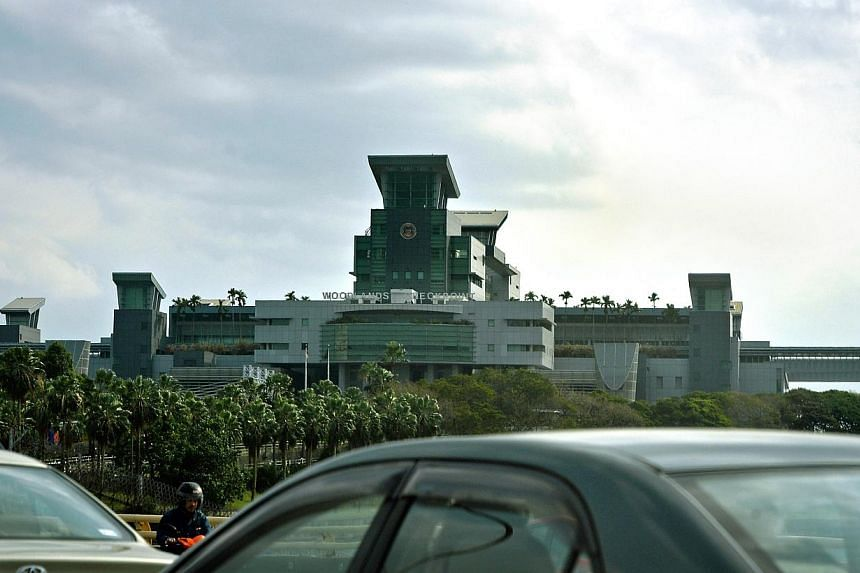 The Woodlands Checkpoint. -- ST FILE PHOTO: KUA CHEE SIONG