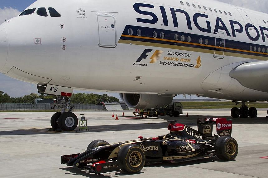 "Said Singapore Airlines CEO Mr Goh Choon Phong: ""We are thrilled to be taking up the title sponsorship of one of the most exciting races on the F1 calendar, and we are especially pleased to be doing so in the lead up to Singapore's 50th birthday next"