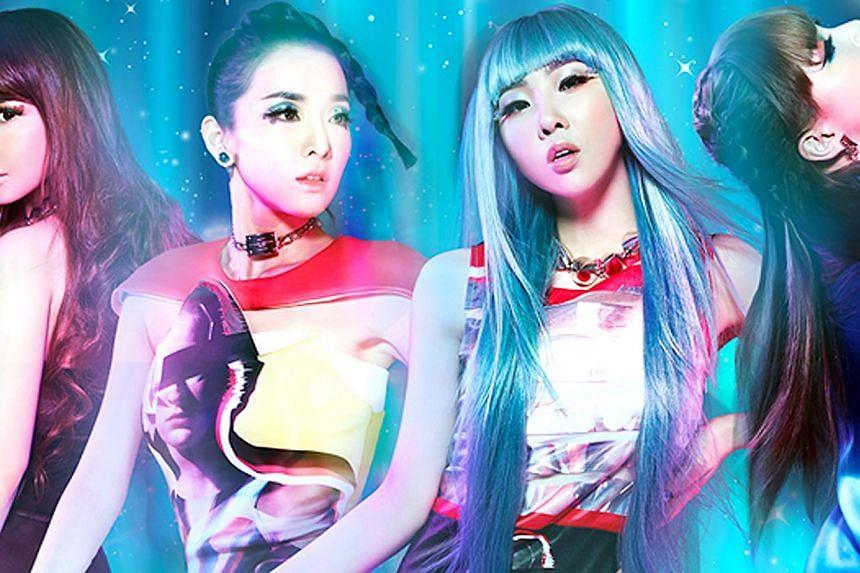 K-pop girl group 2NE1. -- FILE PHOTO:YG ENTERTAINMENT