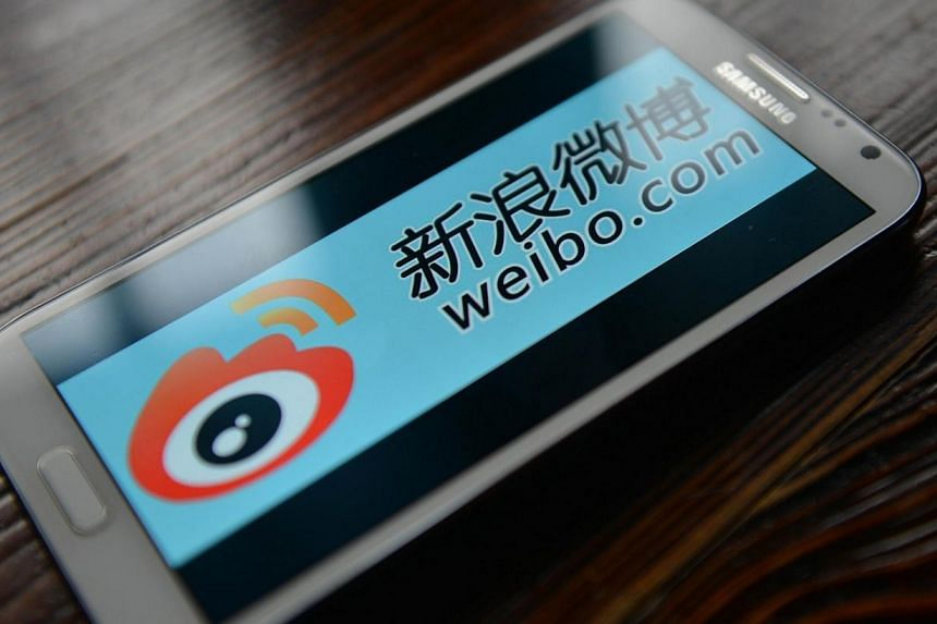 Sina Weibo, widely known as China's version of Twitter, is set to go public in the United States this week - after three weeks of sell-offs took their toll on technology stocks. -- FILE PHOTO: AFP