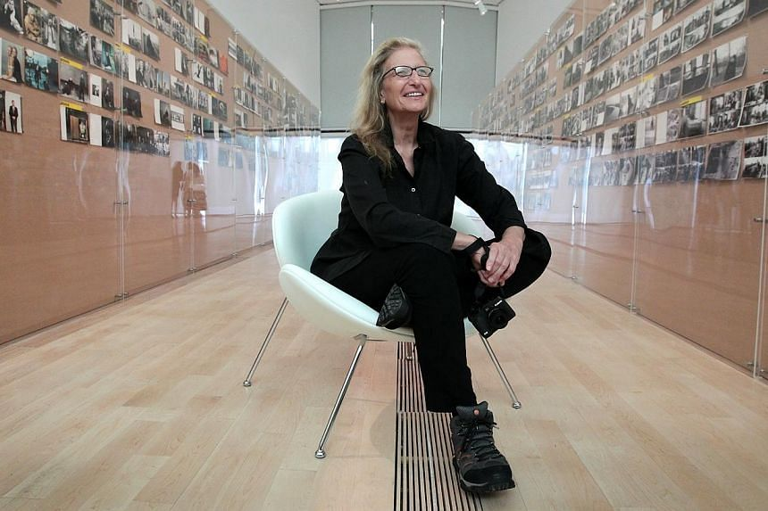 Famed portrait photographer Annie Leibovitz, whose new exhibitionwill open in Singapore on April 18.Titled Annie Leibovitz A Photographer's Life 1990-2005, the show will feature about 190 photographs from her personal and professional col