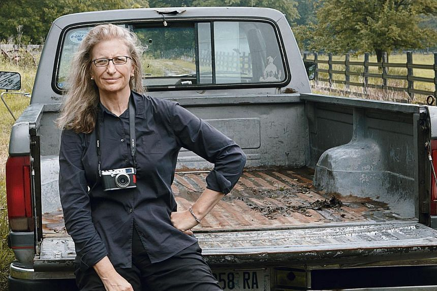 Annie Leibovitz's A Photographer's Life 1990-2005, at the ArtScience Museum, will run from April 18 to Oct 19, 2014. PHOTO: FM RACHEL LOI SY/ COURTESY OF ANNIE LEIBOVITZ