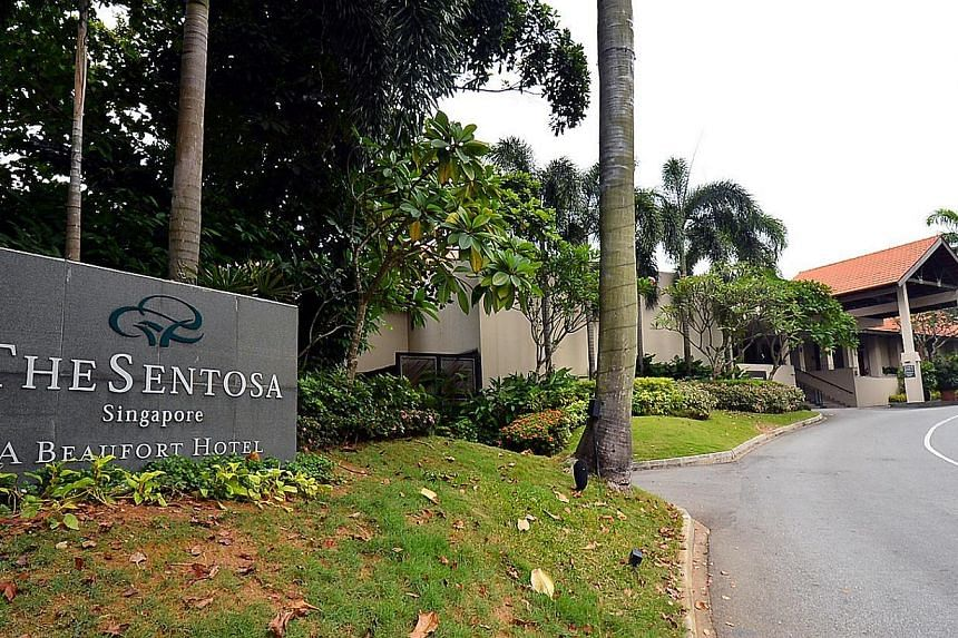 The Sentosa, a Beaufort Hotel. -- FILE PHOTO: WANBAO