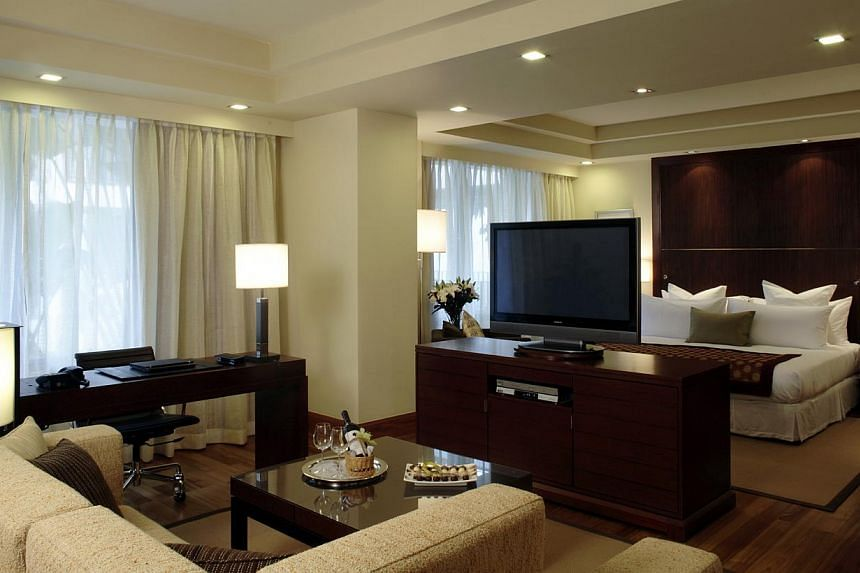 Junior Suite at The Sentosa, a Beaufort Hotel. -- FILE PHOTO: THE SENTOSA SINGAPORE