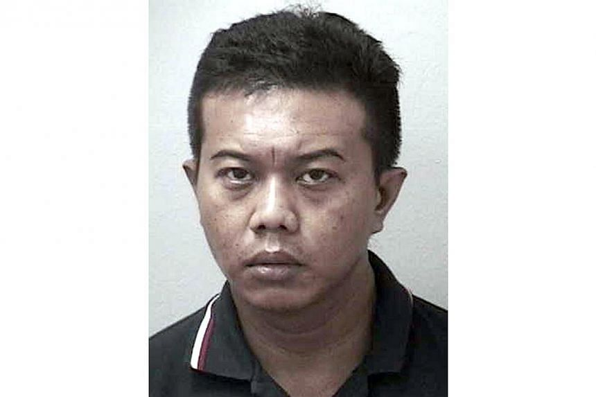 Khairun Nizar Isnin pleaded guilty to seven of 14 charges.-- PHOTO: SINGAPORE POLICE FORCE