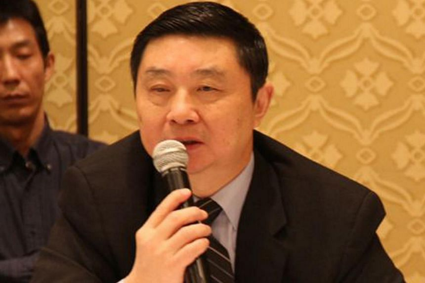 Mr Liu Zhengzhu, former bureau chief of Hong Kong-based Chinese-language Phoenix television. -- FILE PHOTO: PHOENIX TELEVISION