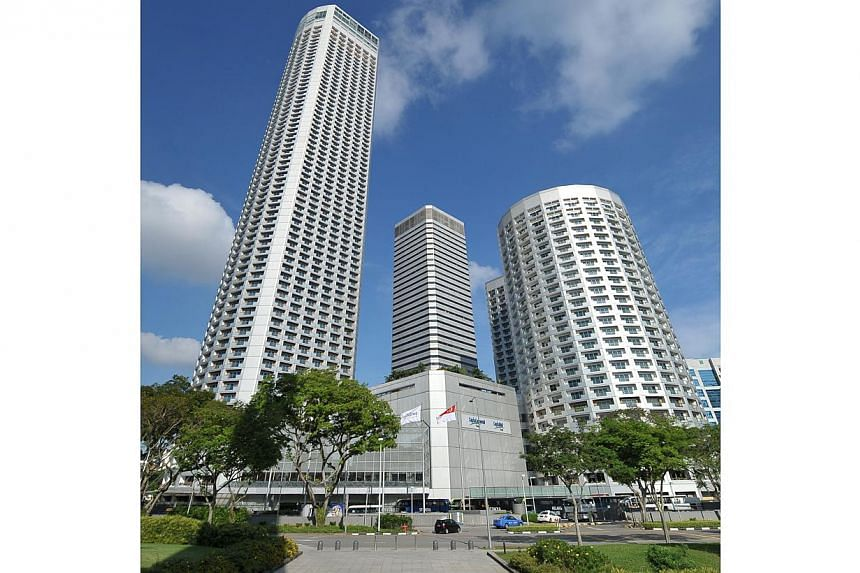 The Swissotel and Fairmont hotels. -- ST FILE PHOTO: ALPHONSUS CHERN