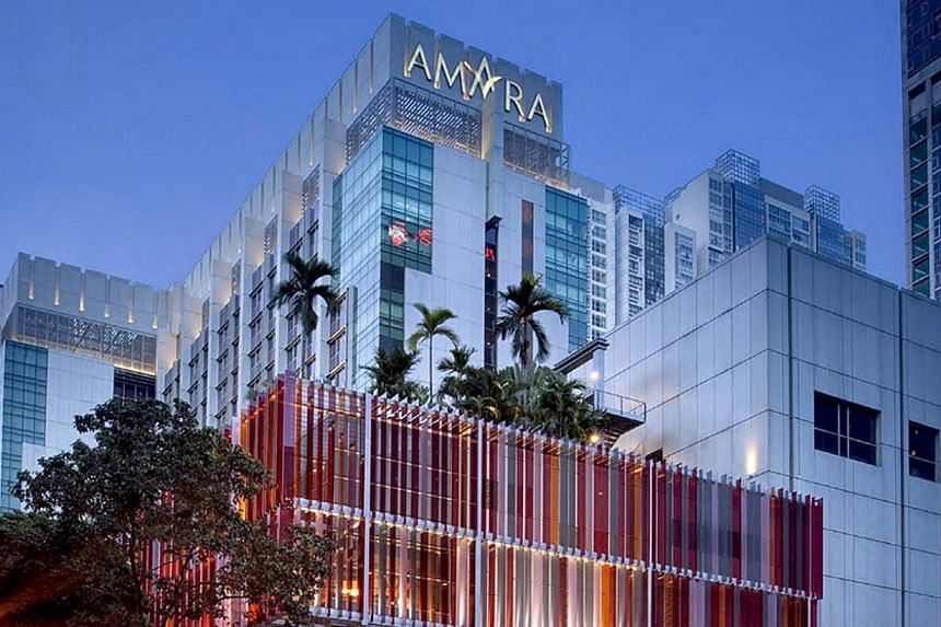 The Amara Singapore. -- FILE PHOTO: AMARA SINGAPORE