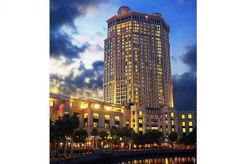 Grand Copthorne Waterfront Hotel. -- FILE PHOTO: GRAND COPTHORNE