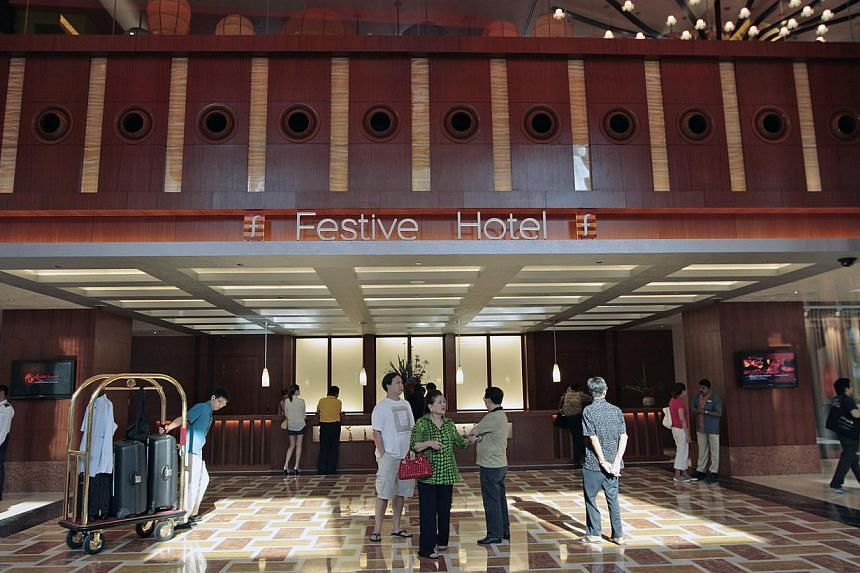 Resorts World Sentosa - Festive Hotel. -- ST FILE PHOTO: TERENCE TAN