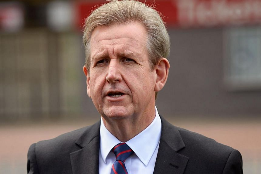 The premier of Australia's New South Wales state, Mr Barry O'Farrell, resigned from his position on Wednesday after it was revealed that he had lied about accepting a A$3,000 (S$3,500) bottle of wine as a gift. -- FILE PHOTO: AFP