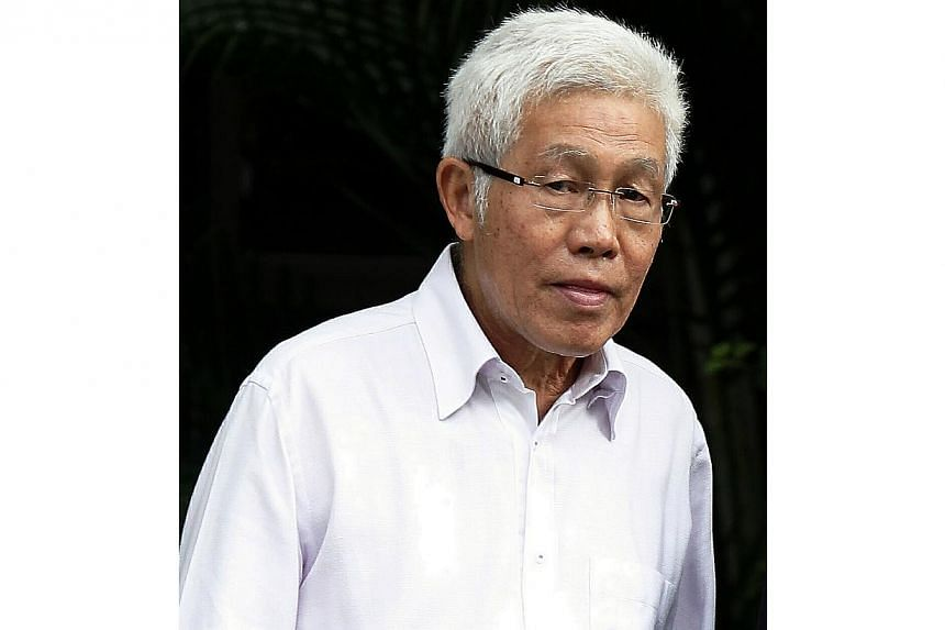 Winston Lee Siew Boon, a veteran doctor and motoring writer, accused of inserting his hand into a patient's bra on Oct 30, 2011, and on June 8 that year at Thong Hoe Clinic in Bukit Batok. -- ST FILE PHOTO: WONG KWAI CHOW