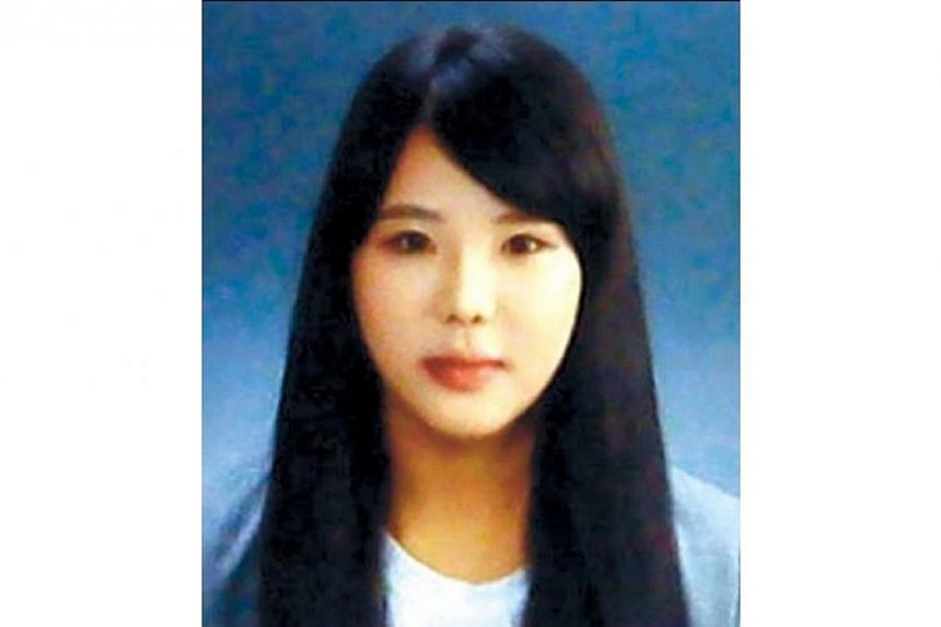Ms Park Ji Young, a 22-year-old crew member of the ferry Sewol,lost her life while struggling to ensure that all passengers on the third and fourth floors of the vessel wore life jackets and found their way out.-- PHOTO: THE KOREA HERALD/