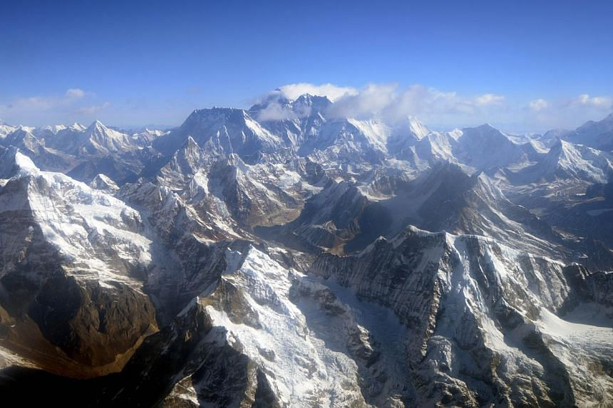 At least eleven Nepalese climbing guides have been killed after an avalanche struck Mount Everest early on Friday, April 18, 2014, a rescue team official told AFP, in the worst accident to hit the world's highest peak. -- FILE PHOTO: AFP
