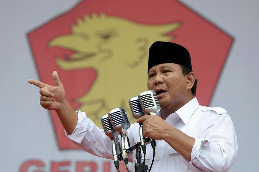 Former general Prabowo Subianto, who has struggled to shake off accusations of human rights abuses, received the backing of Indonesia's oldest Islamic party on Friday, April 18, 2014, bringing him close to being able to run in the July 9 presidential