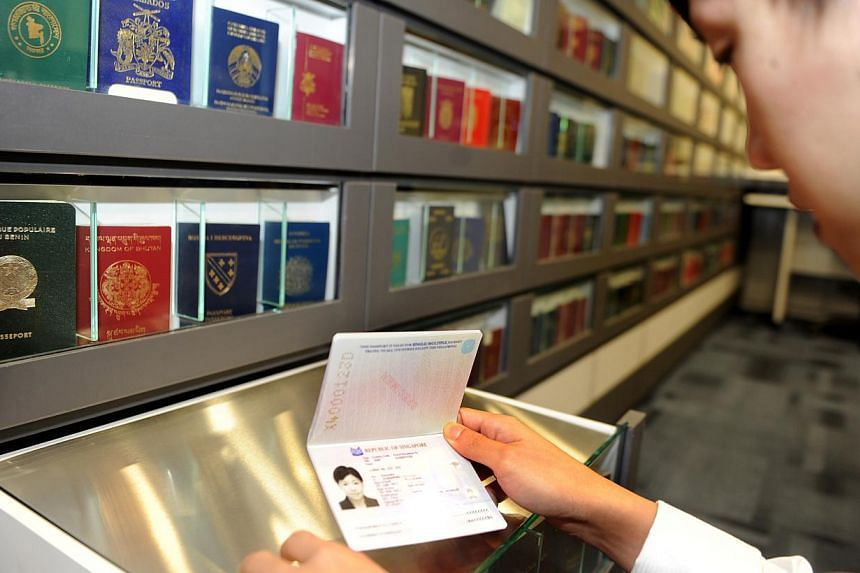 The Immigration and Checkpoints Authority (ICA) has a library of genuine samples of passports from countries around the world to help officers pick up skills on telling real from fake. The Singapore passport remains one of the most welcomed.