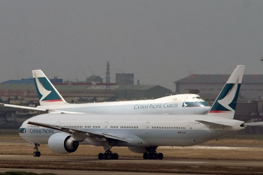A passenger on board a Hong Kong-bound Cathay Pacific flight, armed only with a Toblerone chocolate bar, demanded the plane fly to Sochi so he could watch the Winter Olympics, a court heard. -- FILE PHOTO: AFP