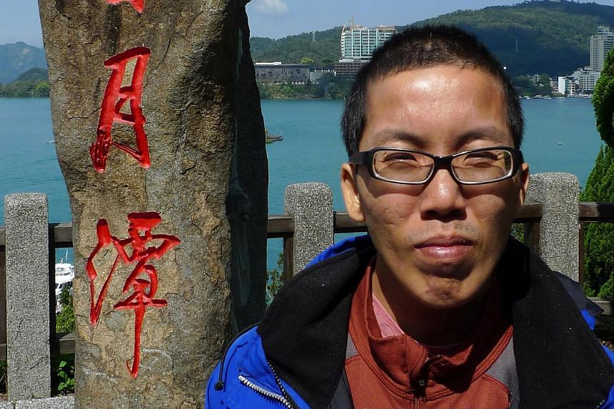 Kitchen assistant Yang Tiong Wei (above, in Taiwan two years ago) withdrew his $4,000 savings and bought a $3,100 ticket to Israel that transited in Istanbul, but he failed to board the connecting flight.