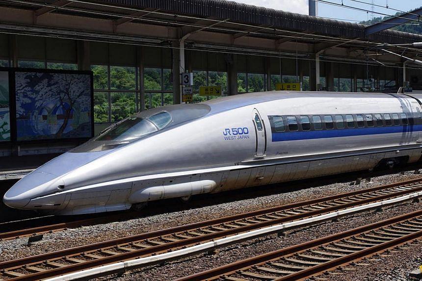 500-Series Shinkansen in Japan. -- FILE PHOTO: JAKUB HALUN