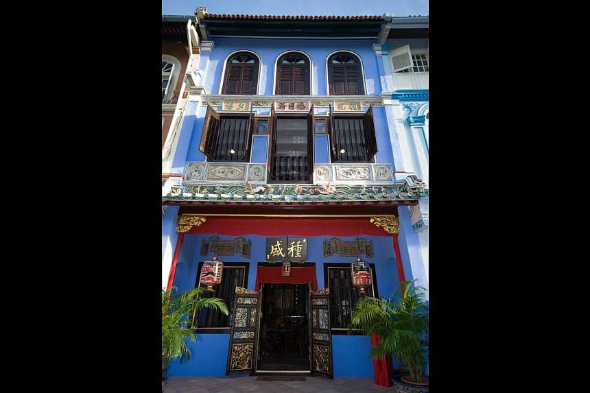 The NUS Baba House (above) is the site of And Then There Was One, an interactive piece of theatre inspired by an actual murder that happened there in 1926. -- PHOTO: NUS BABA HOUSE
