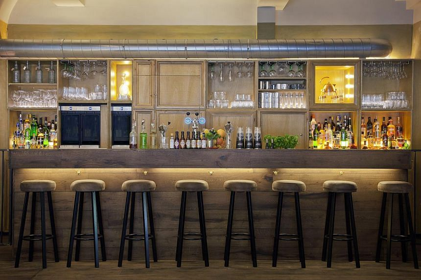 Henry's Bar. -- PHOTO: LEON HENDRICKX