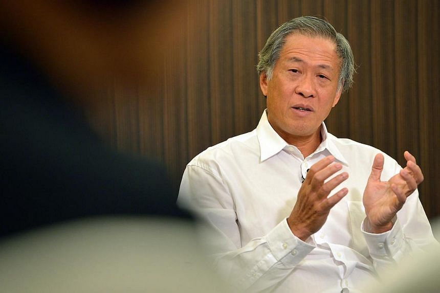 """Singapore will accept Indonesia's apology over the naming of a new warship at """"face value"""", stressing that both countries have to find ways to move beyond it, Defence Minister Ng Eng Hen said on Sunday, April 20, 2014.-- ST FILE PHOTO: KUA CHEE"""