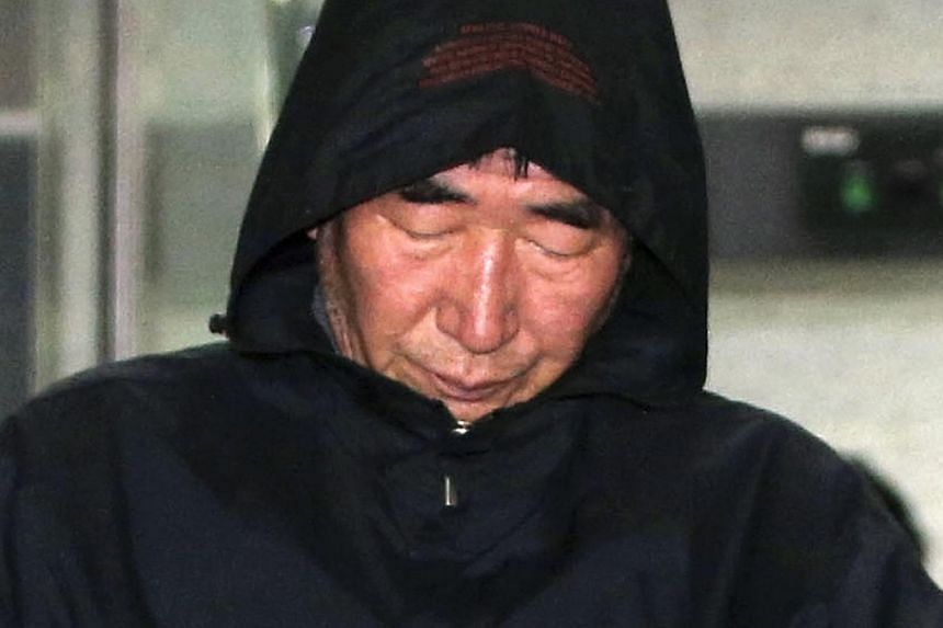 Captain Lee Joon Seok, 69, was arrested on Saturday on charges of negligence for quitting the ship while leaving passengers on board along with two other crew members, including the third mate. FILE PHOTO: REUTERS