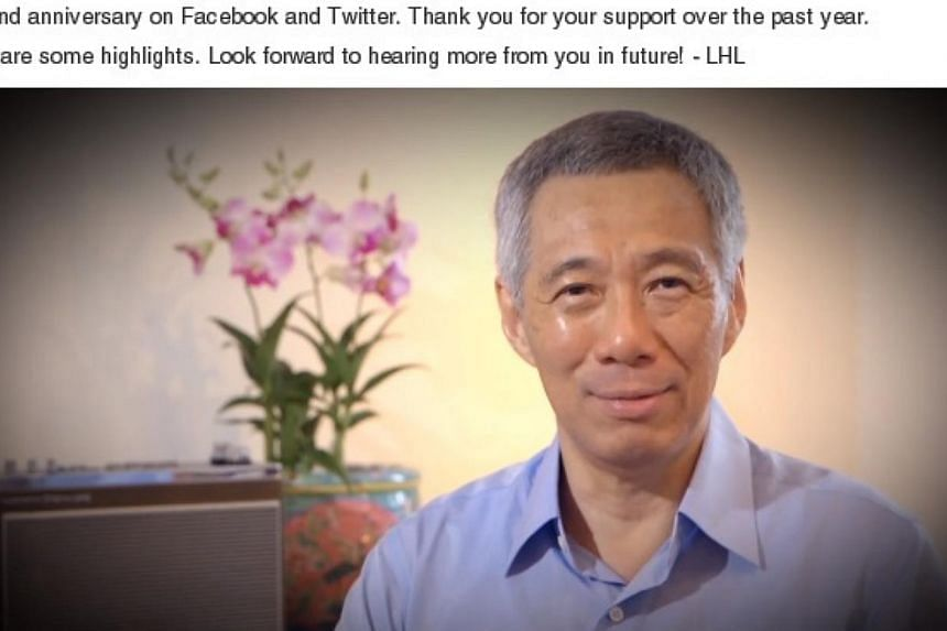 """""""It's been a fun journey sharing with you, things I have been doing, people I've met, places I've been, and once in awhile, pictures I've taken,"""" PM Lee said in his Facebook video. """"Thank you very much for reading my posts, commenting on them, liking"""