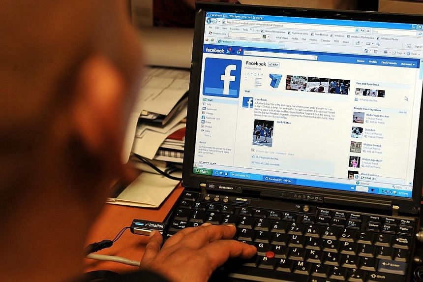 A computer user looking at the social-networking website Facebook.Internet service providers (ISPs) may soon have to offer Internet filtering tools for free to their broadband and mobile subscribers under new rules proposed by the Media Develop
