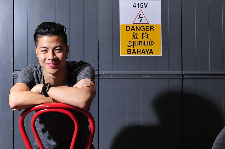 Benjamin Kheng grew up enjoying jam sessions with his family and being active in sports. -- PHOTO: DIOS VINCOY JR FOR THE STRAITS TIMES