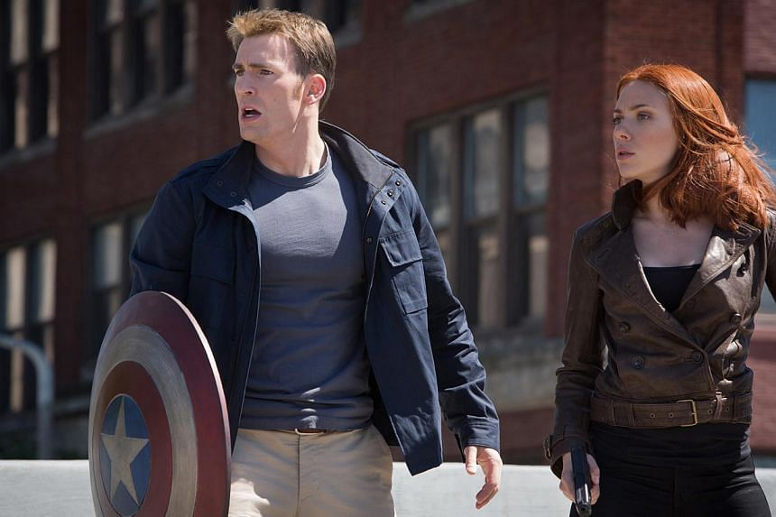 Captain America: The Winter Soldier stayed strong at the North American box office, muscling out the competition to retain top spot for the third week running, industry estimates showed on Sunday. -- FILE PHOTO: DISNEY/CINEMA STIll
