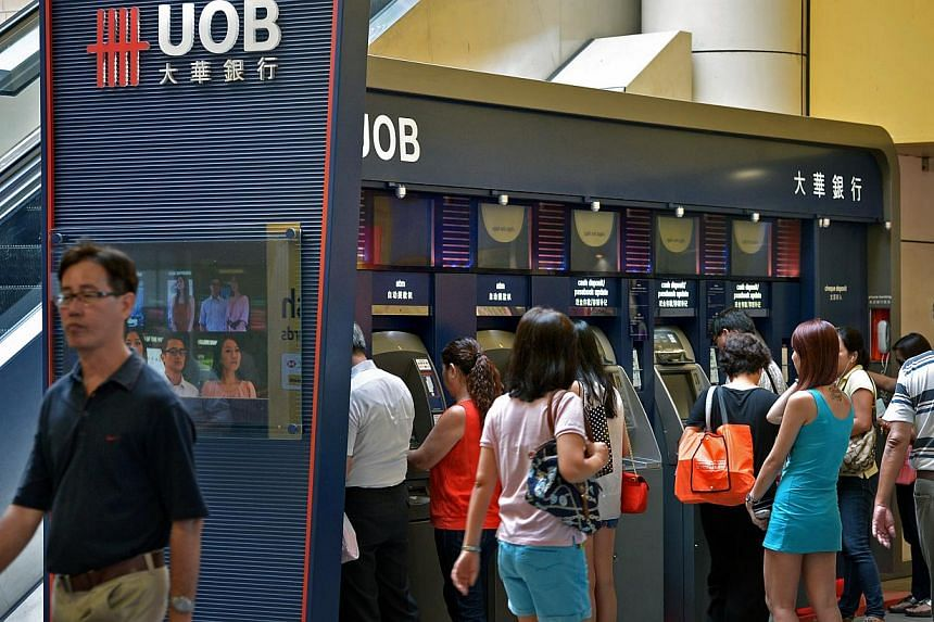 United Overseas Bank (UOB) has been named the best retail bank in Asia Pacific and Singapore, according to trade publication The Asian Banker. -- ST FILE PHOTO:KUA CHEE SIONG