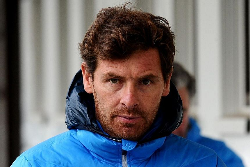 FC Zenit St. Petersburg's new head coach Andre Villas-Boas attends a training session of his team in St. Petersburg on March 21, 2014. Andre Villas-Boas on Monday, April 21, 2014, dismissed out of hand rumours linking him with Spanish football g