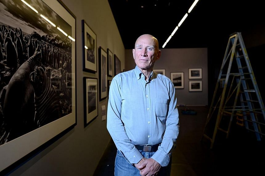 Brazilian photographer Sebastiao Salgado's (above) exhibition, Genesis, is a homage to the pristine beauty of far-flung corners of the world through 245 black-and-white photographs. -- ST PHOTO: NG SOR LUAN