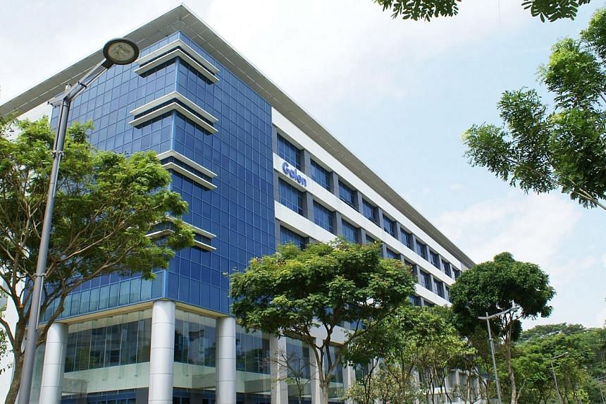 The Galen at Singapore Science Park II, one of Ascendas's Green Mark buildings. -- FILE PHOTO: ASCENDAS
