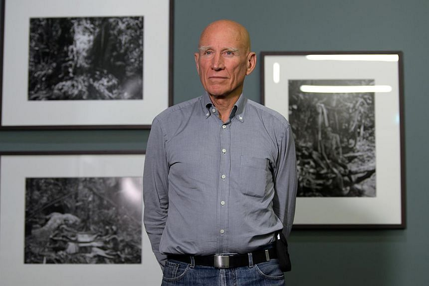 Brazilian photographer Sebastiao Salgado took 12 years to complete Genesis, a showcase of 245 images. -- ST PHOTO: NG SOR LUAN