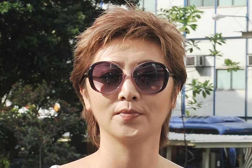 Mediacorp artiste Chuan Yi Fong - better known as Quan Yifeng - was fined $800 and disqualified three months from driving on Wednesday after she pleaded guilty to one charge of inconsiderate driving. -- FILE PHOTO: SHIN MIN