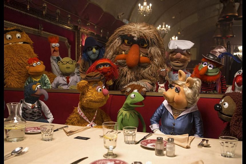 The less-famous members of the Muppets, which number in the hundreds, had to 'lobby' for roles in the latest caper. -- PHOTO: WALT DISNEY MOTION PICTURES, SINGAPORE