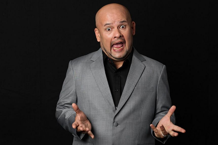 Harith Iskander. -- PHOTO: SINGAPORE COMEDY FRINGE 2014