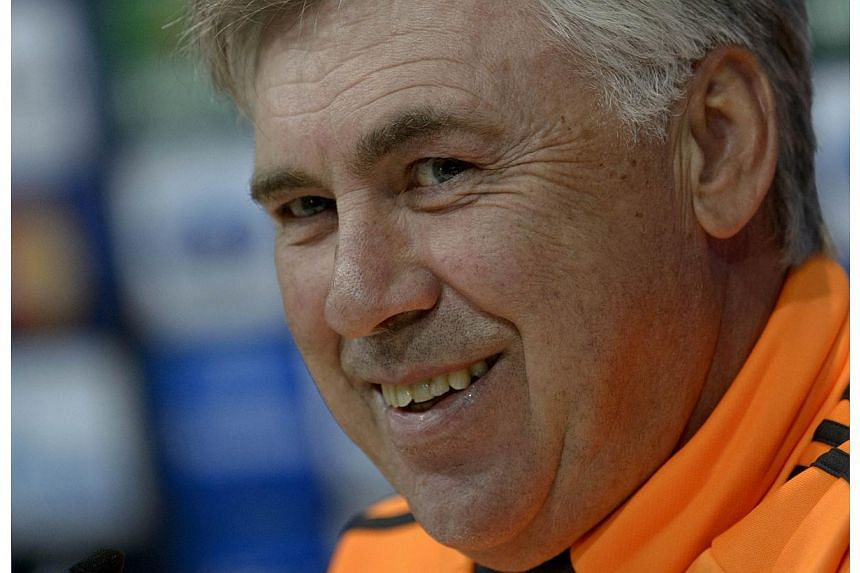 Manchester United began their search for a new manager on Wednesday, April 23, 2014, with newspaper reports claiming that Real Madrid coach Carlo Ancelotti has emerged as a candidate to succeed David Moyes. -- FILE PHOTO: AFP