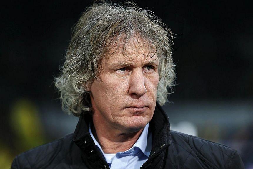Bundesliga strugglers Nuremburg announced on Wednesday, April 23, 2014, that coach Gertjan Verbeek has been sacked. -- FILE PHOTO: AFP