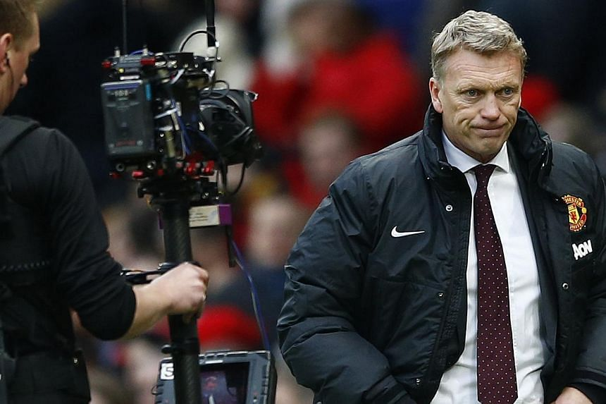 """David Moyes declared on Wednesday, April 23, 2014, that he was """"proud"""" to have managed Manchester United, but said that he understood the """"frustration"""" that had led to his dismissal. -- PHOTO: REUTERS"""