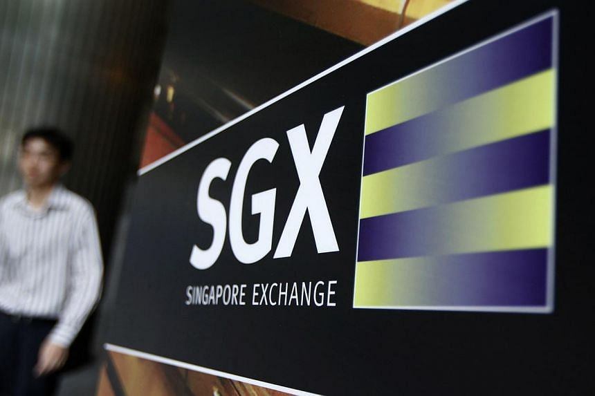 """The Singapore Exchange (SGX) has posted a third-quarter net profit of $76 million, down 22 per cent from the same period a year earlier after what it termed a """"challenging"""" period for its securities business.-- PHOTO: REUTERS"""